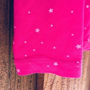 32 Degrees Matching Sets - 32 degrees starry-pink base-layer set.